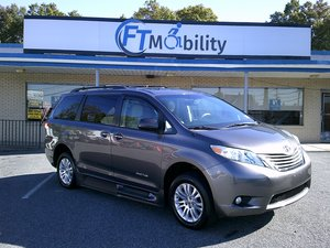 Used Wheelchair Van For Sale: 2012 Toyota Sienna XLE Wheelchair Accessible Van For Sale with a Eldorado National Amerivan Toyota Amerivan on it. VIN: 5TDYK3DC7CS233913