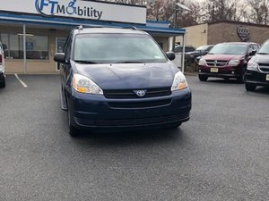 Used Wheelchair Van For Sale: 2005 Toyota Sienna LE Wheelchair Accessible Van For Sale with a BraunAbility Toyota Power Rear Entry on it. VIN: 5TDZA23C55S342442