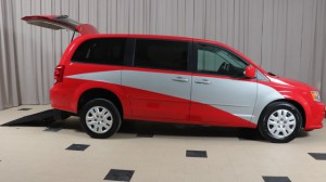 Used Wheelchair Van For Sale: 2015 Dodge Caravan  Wheelchair Accessible Van For Sale with a Freedom Motors - Manual Dodge Rear Entry on it. VIN: 2C4RDGBGXFR634932