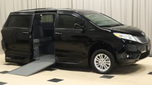 Used Wheelchair Van For Sale: 2015 Toyota Sienna XLE Wheelchair Accessible Van For Sale with a VMI - Toyota NorthstarAccess360 on it. VIN: 5TDYK3DC1FS631994