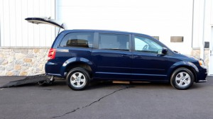 Used Wheelchair Van For Sale: 2013 Dodge Caravan  Wheelchair Accessible Van For Sale with a AutoAbility Wheelchair Van Conversions - Rear Entry Dodge on it. VIN: 2C4RDGCG0DR524287