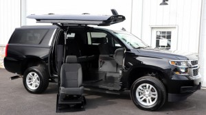 Used Wheelchair Van For Sale: 2018 Chevrolet Suburban LT Wheelchair Accessible Van For Sale with a ATC Wheelchair Truck Conversions - 2500 Chevy & GMC SUV's on it. VIN: 1GNSKGEC7JR258065