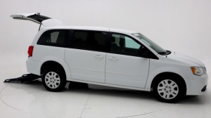 Used Wheelchair Van For Sale: 2015 Dodge Caravan SE Wheelchair Accessible Van For Sale with a FR Wheelchair Vans - Dodge Rear Entry on it. VIN: 2C4RDGBG8FR642298