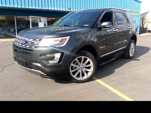 Used Wheelchair Van For Sale: 2016 Ford Explorer Limited Wheelchair Accessible Van For Sale with a BraunAbility MXV Wheelchair SUV on it. VIN: 1FM5K7F80GGC06342