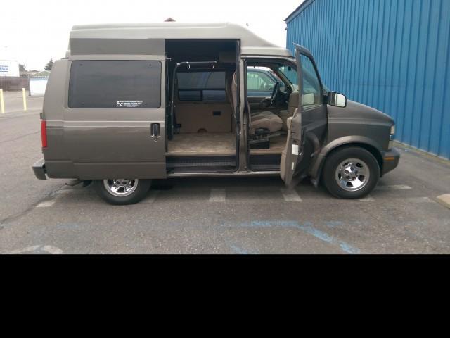 1999 chevrolet mv 1 wheelchair van for sale non branded wheelchair lift tiedowns spokane. Black Bedroom Furniture Sets. Home Design Ideas