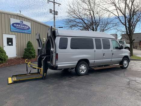Used Wheelchair Van For Sale: 2012 Ford E-Series XL Wheelchair Accessible Van For Sale with a Non Branded Wheelchair Lift & Tiedowns on it. VIN: 1FBSS3BLXCDA45041
