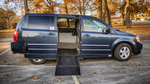 Used Wheelchair Van For Sale: 2008 Dodge Grand Caravan SXT Wheelchair Accessible Van For Sale with a AMS Dodge Legend Side Entry on it. VIN: 1D8HN54P68B135025