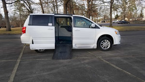 Used Wheelchair Van For Sale: 2015 Dodge Grand Caravan SXT Wheelchair Accessible Van For Sale with a VMI Dodge Summit on it. VIN: 2C4RDGCG1FR549122