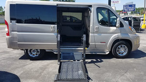 New Wheelchair Van For Sale: 2018 Ram Promaster Low Roof Wheelchair Accessible Van For Sale with a TEMPEST Pro-Master Tempest X on it. VIN: 3C6TRVAG2JE151112