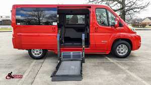 New Wheelchair Van For Sale: 2019 Ram Promaster L Wheelchair Accessible Van For Sale with a TEMPEST Pro-Master Tempest X on it. VIN: 3C6TRVAG3KE504622