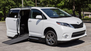 Used Wheelchair Van For Sale: 2016 Toyota Sienna SE Wheelchair Accessible Van For Sale with a VMI Toyota NorthstarAccess360 on it. VIN: 5TDXK3DC4GS737613