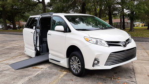 New Wheelchair Van For Sale: 2020 Toyota Sienna S Wheelchair Accessible Van For Sale with a VMI Toyota NorthstarAccess360 on it. VIN: 5TDYZ3DC3LS033574