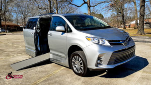 Used Wheelchair Van For Sale: 2019 Toyota Sienna S Wheelchair Accessible Van For Sale with a VMI Toyota NorthstarAccess360 on it. VIN: 5TDYZ3DC9KS001002
