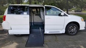 Used Wheelchair Van For Sale: 2017 Dodge Grand Caravan SE Wheelchair Accessible Van For Sale with a VMI Dodge Northstar E on it. VIN: HR557986