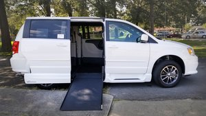 Used Wheelchair Van For Sale: 2017 Dodge Grand Caravan SE Wheelchair Accessible Van For Sale with a VMI Dodge Northstar E on it. VIN: HR760973