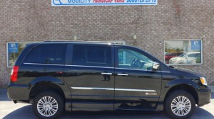 Used Wheelchair Van For Sale: 2015  Town & Country Touring Wheelchair Accessible Van For Sale with a BraunAbility - Chrysler Entervan XT on it. VIN: 2C4RC1CG7FR577698