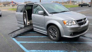 Used Wheelchair Van For Sale: 2017 Dodge Caravan  Wheelchair Accessible Van For Sale with a BraunAbility - Dodge Entervan II on it. VIN: 2C4RDGCG6HR693557
