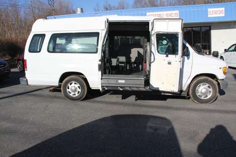 New Wheelchair Van For Sale: 2002 Ford Econoline EX Wheelchair Accessible Van For Sale with a  on it. VIN: 1FTNS24L62HB82405