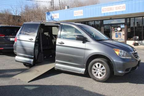 New Wheelchair Van For Sale: 2010 Honda Odyssey EX-L Wheelchair Accessible Van For Sale with a  on it. VIN: 5FNRL3H64AB113915