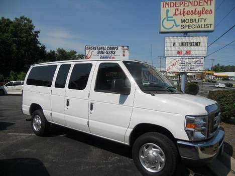 New Wheelchair Van For Sale: 2010 Ford E-350 XL Wheelchair Accessible Van For Sale with a  on it. VIN: IFBNE3BL3ADA54603