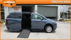 Used Wheelchair Van For Sale: 2016 Toyota Sienna Limited Wheelchair Accessible Van For Sale with a VMI Toyota NorthstarAccess360 on it. VIN: 5TDYK3DC1GS716433