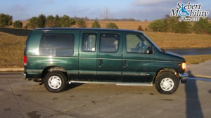 Used Wheelchair Van For Sale: 2001 Ford E-150  Wheelchair Accessible Van For Sale with a  on it. VIN: 1FDRE14LX1HB63594