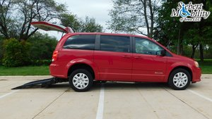 Used Wheelchair Van For Sale: 2016 Dodge Grand Caravan SE Wheelchair Accessible Van For Sale with a BraunAbility Dodge Manual Rear Entry on it. VIN: 2C4RDGBG2GR276596