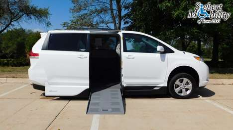 Used Wheelchair Van For Sale: 2014 Toyota Sienna SE Wheelchair Accessible Van For Sale with a VMI Toyota Summit Access360 on it. VIN: 5TDKK3DC9ES514863
