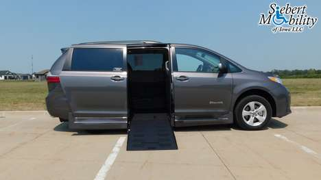 New Wheelchair Van For Sale: 2020 Toyota Sienna SE Wheelchair Accessible Van For Sale with a BraunAbility Toyota Rampvan XT on it. VIN: 5TDKZ3DC3LS072817