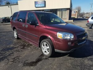 Used Wheelchair Van For Sale 2008 Chevrolet Uplander EX Accessible With