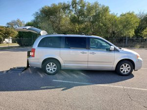 Used Wheelchair Van For Sale: 2010 Chrysler Town & Country Touring Wheelchair Accessible Van For Sale with a  on it. VIN: 2A4RR5D17AR273581