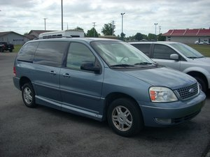 Used Wheelchair Van For Sale: 2004 Ford Freestar ES Wheelchair Accessible Van For Sale with a  on it. VIN: 2FMZA52294BA46913