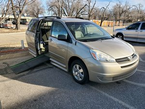 Used Wheelchair Van For Sale: 2004 Toyota Sienna S Wheelchair Accessible Van For Sale with a IMS Toyota on it. VIN: 5TD2A23C345152864