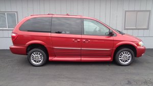 Used Wheelchair Van For Sale 2002 Chrysler Town Country Limited Accessible