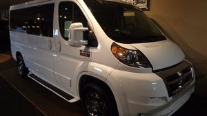 New Wheelchair Van For Sale: 2017 Ram Promaster High Roof Wheelchair Accessible Van For Sale with a TEMPEST Pro-Master Tempest X on it. VIN: 3C6TRVAG0HE500536