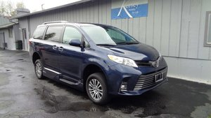 Used Wheelchair Van For Sale: 2018 Toyota Sienna XLE Wheelchair Accessible Van For Sale with a VMI Toyota NorthstarAccess360 on it. VIN: 5TDYZ3DC1JS917574