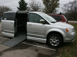 Used Wheelchair Van For Sale: 2009 Chrysler Town & Country Limited Wheelchair Accessible Van For Sale with a VMI Northstar on it. VIN: 2A8HR64X89R564994