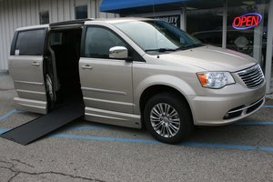 Used Wheelchair Van For Sale: 2013 Chrysler Town & Country L Wheelchair Accessible Van For Sale with a VMI Northstar on it. VIN: 2C4RC1CG6DR711033