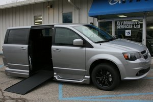 New Wheelchair Van For Sale: 2019 Dodge Grand Caravan GT Wheelchair Accessible Van For Sale with a VMI Northstar on it. VIN: 2C4RDGEG9KR745140