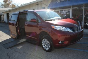 Used Wheelchair Van For Sale: 2017 Toyota Sienna L Wheelchair Accessible Van For Sale with a VMI Northstar on it. VIN: 5TDYZ3DC3HS284114