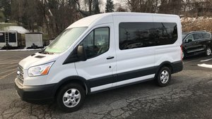 Used Wheelchair Van For Sale: 2018 Ford Transit LT Wheelchair Accessible Van For Sale with a  on it. VIN: 1FMZK1CM1JKA57511