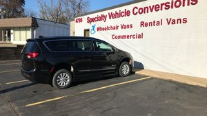 New Wheelchair Van For Sale: 2018 Chrysler Pacifica Touring Wheelchair Accessible Van For Sale with a BraunAbility BraunAbility Pacifica InFloor on it. VIN: 2C4RC1BG8JR136303