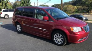 Used Wheelchair Van For Sale: 2014 Chrysler Town & Country Touring Wheelchair Accessible Van For Sale with a BraunAbility Chrysler Entervan II on it. VIN: 2C4RC1BGXER163721