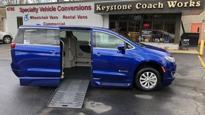 Used Wheelchair Van For Sale: 2018 Chrysler Pacifica S Wheelchair Accessible Van For Sale with a BraunAbility Chrysler Pacifica Foldout XT on it. VIN: 2C4RC1FG7JR234443