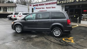 Used Wheelchair Van For Sale: 2016 Dodge Grand Caravan SXT Wheelchair Accessible Van For Sale with a BraunAbility BraunAbility Dodge Manual Rear Entry on it. VIN: 2C4RDGCG4GR352625