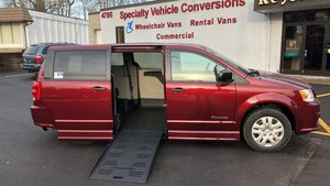 New Wheelchair Van For Sale: 2019 Dodge Grand Caravan S Wheelchair Accessible Van For Sale with a BraunAbility Dodge Entervan II on it. VIN: 2C7WDGBG4KR779268