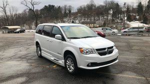New Wheelchair Van For Sale: 2019 Dodge Grand Caravan S Wheelchair Accessible Van For Sale with a BraunAbility Dodge Entervan Xi Infloor on it. VIN: 2C7WDGCGBKR584255