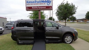 New Wheelchair Van For Sale: 2018 Chrysler Pacifica Touring Wheelchair Accessible Van For Sale with a VMI - Chrysler Northstar on it. VIN: 2C4RC1FG8JR271629