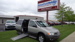 Used Wheelchair Van For Sale: 2004 Pontiac Montana  Wheelchair Accessible Van For Sale with a Eldorado National Amerivan - Amerivan Classic on it. VIN: 1GMDXO3EX4D121861