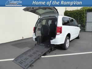 5f1855741c19e3 Used Wheelchair Van For Sale  2016 Dodge Grand Caravan SXT Wheelchair  Accessible Van For Sale